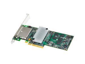 Intel RAID SAS/SATA 8 external port w/ 512MB cache memory PCI-E 2.0 x8 Controller Card (RS2PI008)