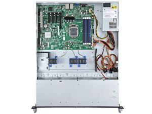 Intel R1304BTLSHBNR 1U Rack Server Barebone LGA 1155 Intel C204 DDR3