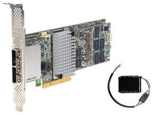 Intel RS25SB008 PCI-Express 3.0 x8 Low Profile Ready SATA / SAS RAID Controller Card