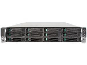 Intel R2312GZ4GC4 2U Rack Server Barebone Dual LGA 2011 Intel C602 DDR3 1600/1333