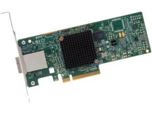 Intel RS3GC008 PCI-Express 3.0 x8 Low Profile Ready SATA / SAS RAID Controller Card