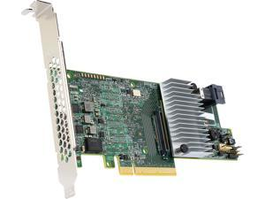 Intel RS3DC040 PCI-Express 3.0 x8 Low Profile Ready SATA / SAS Controller Card
