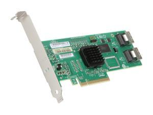 LSI Internal SATA/SAS SAS3081E-R 3Gb/s PCI-Express 1.1 RAID Controller Card, Single