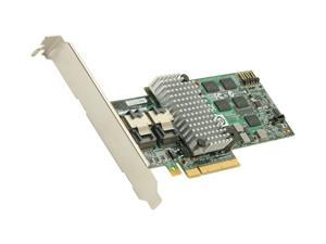 LSI MegaRAID Internal Low-Power SATA/SAS 9260-8i 6Gb/s PCI-Express 2.0 w/ 512MB onboard memory RAID Controller Card, Single--Avago Technologies