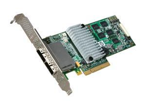 3ware External 9750-8e SATA/SAS 6Gb/s PCIe 2.0 w/512 MB onboard memory controller card, Single