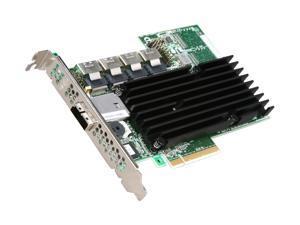 3ware 9750-16i4e SATA/SAS 6Gb/s PCIe 2.0 w/512 MB onboard memory controller card, Single