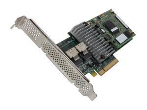 LSI LSI00282 PCI-Express 2.0 x8 MD2 Low profile SATA / SAS MegaRAID SAS 9260CV-8i Controller Card, Single