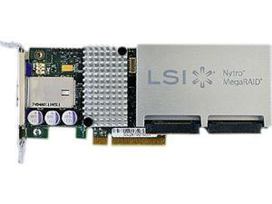 LSI Nytro MegaRAID LSI00395 (8110-4e) PCI-Express 3.0 x8 SATA / SAS Application Acceleration Card