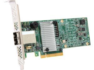 LSI 9380 MegaRAID SAS 9380-8e (LSI00438) PCI-Express 3.0 x8 Low Profile SAS RAID Controller Card--Avago Technologies