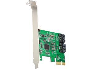 SYBA SI-PEX40098 Low Profile SATA 2 Port SATA III RAID PCI-e 2.0 x1