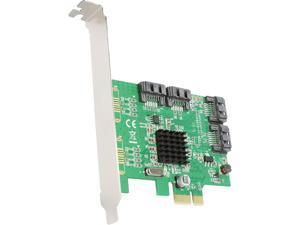 SYBA SI-PEX40108 4 Port SATA III PCI-e 2.0 x1 Card