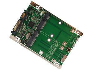 "SYBA SD-ADA40107 Others 2.5"" SATA 6G / USB 3.0 to Dual mSATA RAID Adapter"