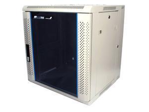 StarTech RK1219WALH 12U 19in Hinged Wall Mount Server Rack Cabinet w/ Vented Glass Door