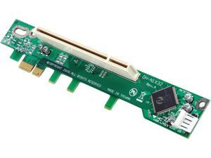 StarTech PEX1PCI1R PCI Express to PCI Riser Card x1 for Intel 1U IPC Server