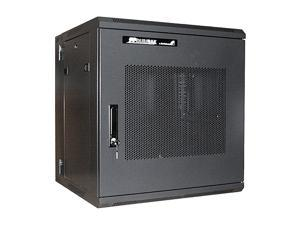 StarTech RK1219WALHM 12U 19in Hinged Wall Mount Server Rack Cabinet w/ Steel Mesh Door