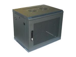 """Norco W-609 9U 450mm Depth Wallmount 19"""" Cabinet"""