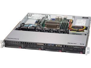 SUPERMICRO SYS-5019S-MN4 1U Rackmount Server Barebone Single Socket H4 (LGA 1151) Intel C236 DDR4 2133/1866/1600