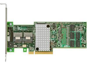 IBM 81Y4481 PCI-Express 3.0 x8 Low Profile Ready SATA / SAS ServeRAID M5110 Controller for IBM System x