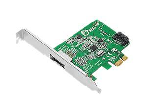 SIIG SC-SA0N11-S1 PCI-Express 2.0 Low Profile Ready SATA III (6.0Gb/s) 2-Port Host Adapter
