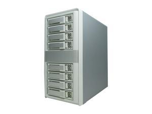 "areca ARC-4038 8 x hot-plug 3.5"" Drive Bays 8-Bays 12 Gb/s SAS Tower JBOD Enclosure"