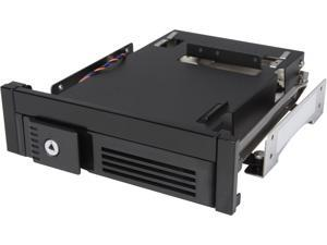 "iStarUSA T-5K35T-SA 5.25"" to Slim ODD and 3.5"" SATA 6Gb/s Trayless Hot-Swap Cage with Anti-vibration"