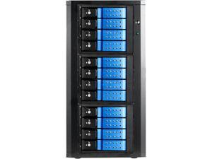 "RAIDAGE DAGE1240DEBL-3MS 12 3.5"" Drive Bays Trayless Hotswap Enclosures"