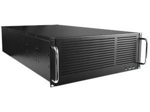 "iStarUSA EB-445-PM Black Steel 4U Rackmount 4U 45 3.5"" HDD Bays EATX Storage Server Chassis eSATA Port Multiplier"