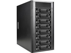 iStarUSA DAGE840TG5-2MS 8-bay SAS / SATA 6.0 Gb/s miniSAS Hotswap JBOD Enclosure