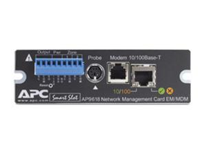 APC AP9618 UPS Network Management Card w/ Environmental Monitoring & Out of Band Management
