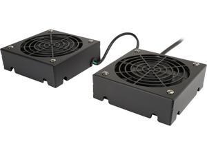 TRIPP LITE SRFANWM SMARTRACK Series Wall-Mount Roof Fan Kit, 120V (2 high-performance fans&#59; 5-15P plug)