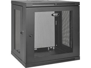 Tripp Lite 12U Wall-Mount Rack Enclosure Cabinet, Low-Profile Switch-Depth (SRW12U)