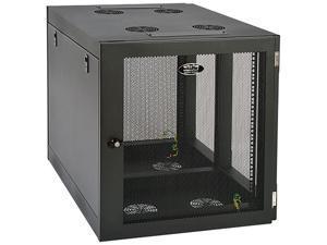 Tripp Lite 12U Wall-Mount Rack Enclosure Cabinet, Heavy-Duty Side-Mount, Server-Depth (SRW12UHD)