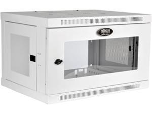Tripp Lite SRW6UWG 6U SmartRack 6U Low-Profile Switch-Depth Wall-Mount Rack Enclosure Cabinet with Clear Acrylic Window