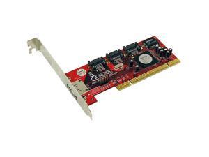 Addonics ADSA3R5-E PCI Serial ATA/300 4-Port Serial ATA RAID Controller
