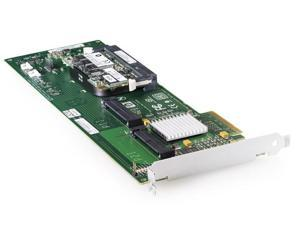HP 409180-B21 PCI Express x4 SATA-150 / SAS Smart Array E200/64 Controller