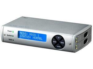 "CRU ToughTech Duo QR (36020-2510-0100) RAID 0, 1 FW800/eSATA/USB2 High Performance RAID Storage System Using 2.5"" Notebook Drives"
