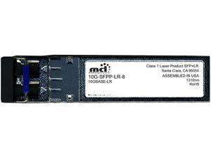 Brocade 10G-SFPP-LR-8 10GBASE-LR SFP+ Transceiver 8-pack