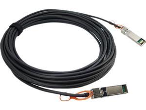 Brocade 10G-SFPP-TWX-0108 10 Gbps Direct Attached SFP+ Copper Cable - Twinaxial cable - 3.3 ft - black