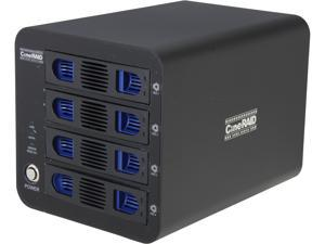 CineRAID CR-NH458-4T 4-Bay RAID Enclosure w/ 4TB(4x1TB) Total Space