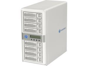 CineRAID CR-N8050-8T 8-Bay Dual Port Thunderbolt Tower w/ 8TB(8x1TB) Enterprise Class Drives
