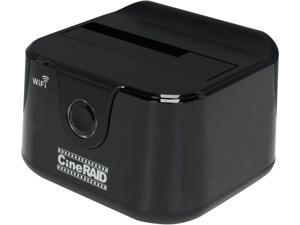 "CineRAID CR-H135 2.5""/3.5"" SATA to USB 3.0 & WiFi External Hard Drive Dock"