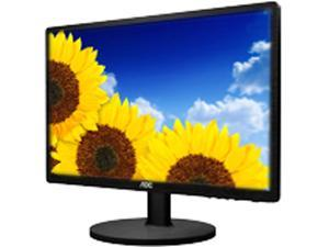"AOC e2460Swhu Black 24""  5ms HDMI Widescreen LED Backlight Monitor 250 cd/m2 20,000,000:1 built-in speakers"