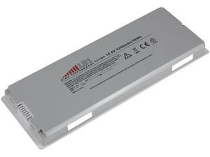 """LB1 High Performance Laptop Battery for Apple MacBook 13"""" A1181, A1185, MA561, MA566 (White)"""