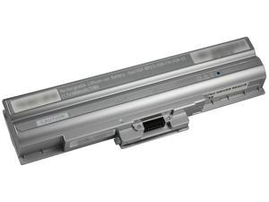 Arclyte N02112R1W Sony Laptop Battery - Vaio VGN-AW,VGN-FW,VGN-NS (No Driver, High Capacity, Silver)