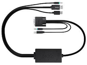 Belkin  F1D9017B06  Smart keyboard / video / mouse / audio cable - 6 ft