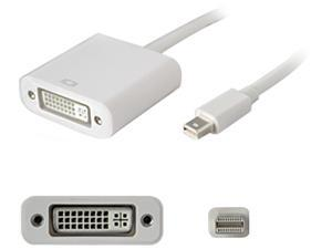 AddOn Mini-Displayport to DVI Adapter Cable - Male to Female