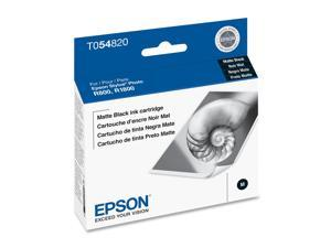 Epson T054820  UltraChrome Hi-Gloss Ink Cartridge&#59; Matte Black for Sylus R1800
