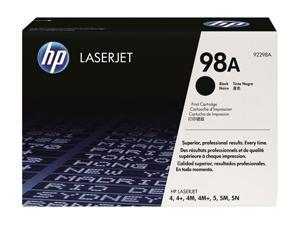 HP 98A Black LaserJet Toner Cartridge (92298A)