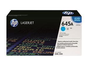 HP 645A Cyan Color LaserJet Toner Cartridge (C9731A)