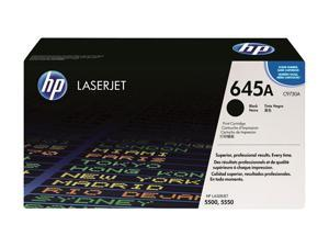 HP 645A Black Color LaserJet Toner Cartridge (C9730A)